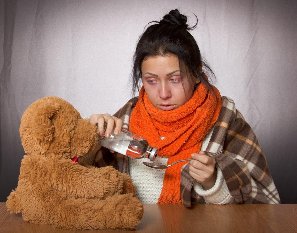 soigner la grippe avec de l'huile essentielle